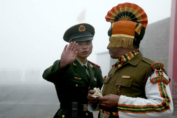 Three Indian soldiers killed in clashes along China border