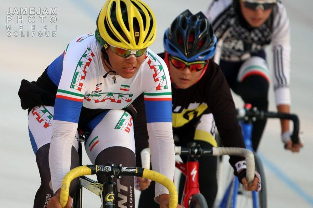 Women's cycling championship held at Azadi Stadium
