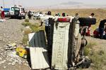 ۴ کشته و ۱۵ مجروح در حوادث رانندگی ۲۴ ساعت گذشته