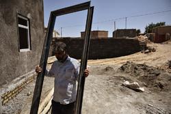 بازدید از مناطق زلزله زده شهرستان های تربت جام و فریمان