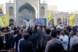 تشییع پیکر پنج شهید مدافع حرم