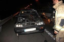 تصادف شبانه