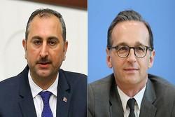 وزرای دادگستری ترکیه و آلمان