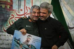 بزرگداشت شهید محسن حججی در تهران