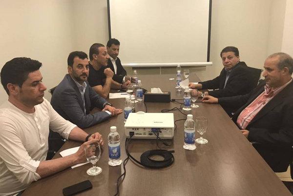بروتوكول للتعاون المشترك بين الاتحادين الايراني والعراقي لكرة القدم