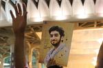 مراسم یادبود شهید «محسن حججی» در اردبیل برگزار شد