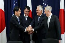 وزیران خارجه و دفاع آمریکا و ژاپن