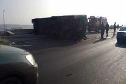 سيناء.. مسلحون يقتلون تسعة سائقين ويشعلون النار بشاحناتهم