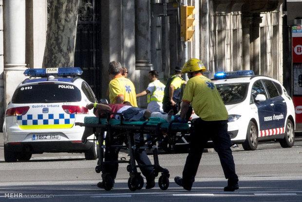 حادثه تروریستی در بارسلونا