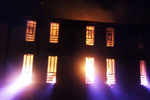 آتش سوزی عباس آباد