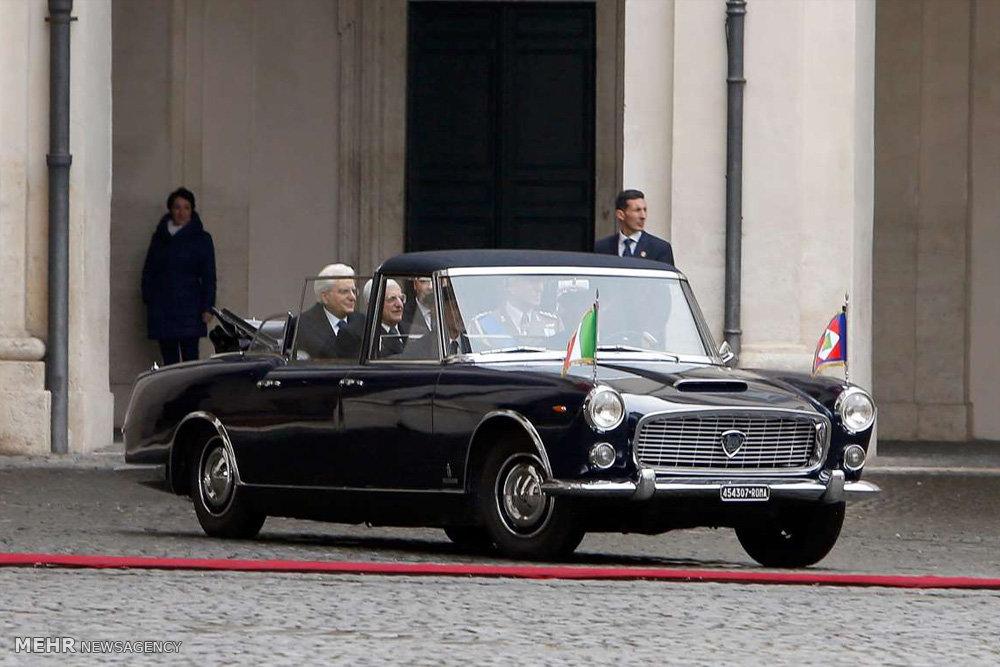 خودروهای رسمی سران دولت ها