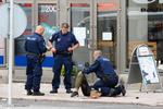 الهجوم بالسكين في فنلندا / صور