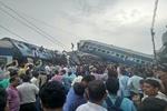 خروج قطار از ریل در شمال هند