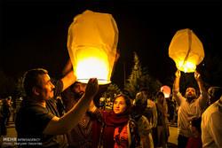 """İran'da Suriyeli çocuklar için """"Balon Festivali"""""""