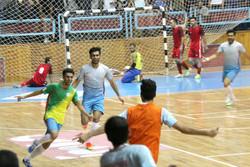 تیم فوتسال فرش آرا مشهد مقابل شهروند ساری به برتری رسید