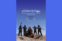 پوستر تنها میان طالبان