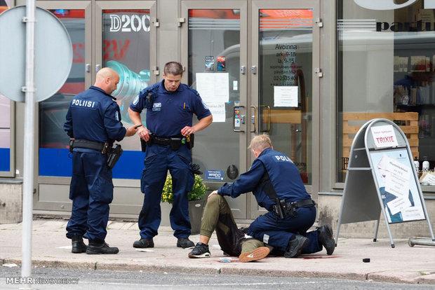 حمله با چاقو در فنلاند ۱ کشته و ۱۰ زخمی برجا گذاشت