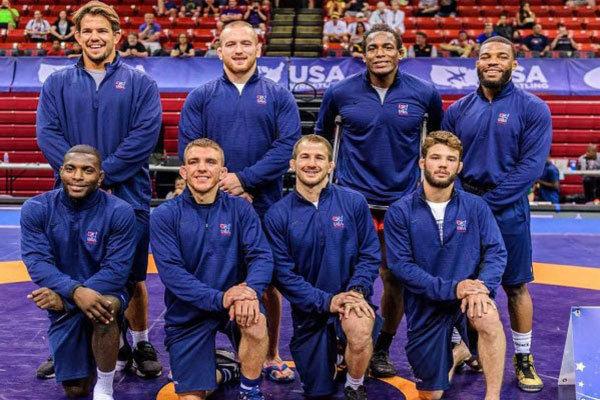 ترکیب تیم کشتی آزاد آمریکا مشخص شد,