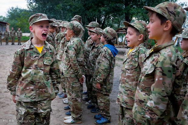 آموزش های رزمی کودکان اوکراینی