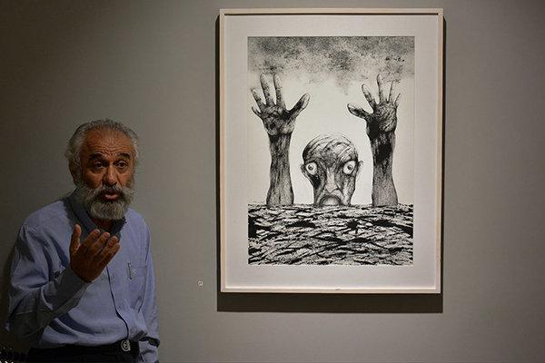 کیومرث کیاست در گفتگو با مهر: هنر خارج از تهران خریدار ندارد/ «روایت جنون» از مرگ همسر