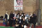 مسابقه بدمینتون بانوان ویژه گرامیداشت ورود آزادگان برگزار شد