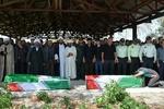 پیکر ۲ شهید جنگلبان درشهرستان مرزی آستارا تشییع و تدفین شد