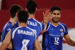امیرحسین اسفندیار- تیم والیبال نوجوانان ایران