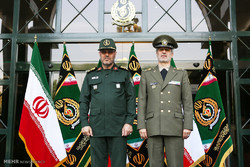 ورود امیر سرتیپ حاتمی وزیر محترم دفاع و پشتیبانی نیروهای مسلح به وزارت دفاع