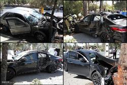 تصادف ۲ خودرو در جاده تهران قم/۵ نفر مصدوم شدند
