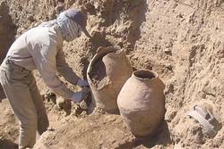 ترانشه سوم تپه زردویان با توجه به حفاری توسط سارقان اهمیتی نداشت
