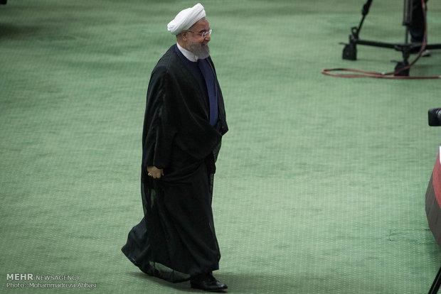 هيئة رئاسة مجلس الشورى تتسلم طلب مساءلة الرئيس روحاني