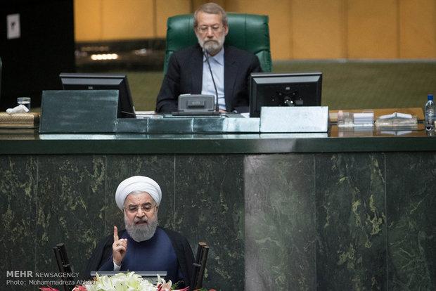 Ruhani önerilen bakanları savunmak üzere Mclist'e