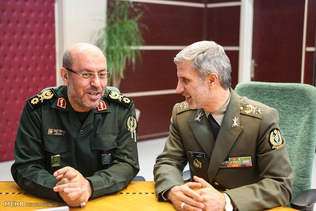 وزير الدفاع الإيراني الجديد يستهل عمله مباشرتا بعد منح الثقة