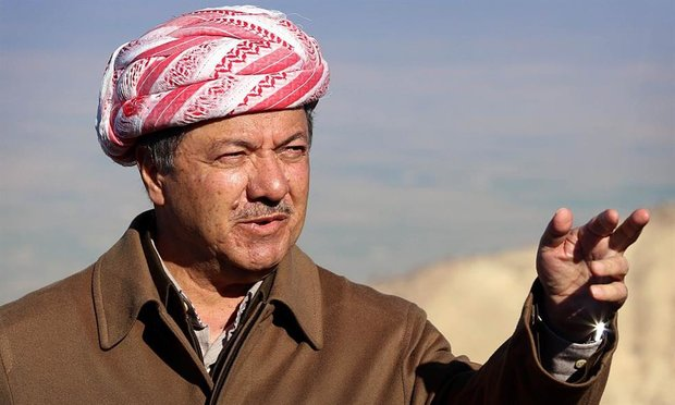 Barzani not to  run for next term