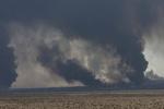 فرمانده حشد شعبی: نیروهای عراقی در ۲ کیلومتری تلعفر هستند/ داعش چاههای نفت را آتش زد