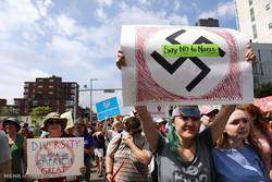 ABD'nin Boston kentinde büyük gösteriler