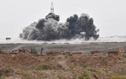 الطيران الروسي يدمر معامل عربات داعش الانتحارية بسوريا