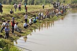 برگزاری جشنواره ماهیگیری با قلاب در سد سهند
