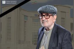 مهدی بیگدلی استاد دانشگاه علوم پزشکی تهران