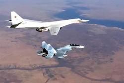 غارات روسيا على مواقع داعش في دير الزور وعقيربات ومعدان