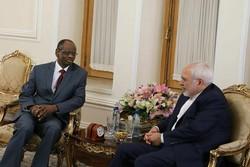 سفیر مالی در تهران با ظریف دیدار و خداحافظی کرد