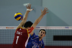 Iran's volleyball squad upends China
