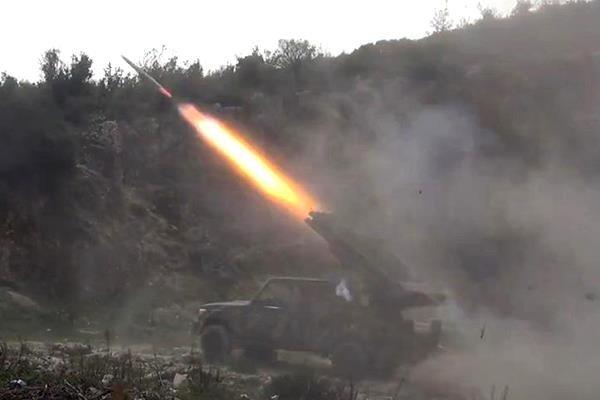 """سقوط صواريخ على جناح التحالف الأمريكي في معسكر """"بسماية"""" جنوب بغداد"""