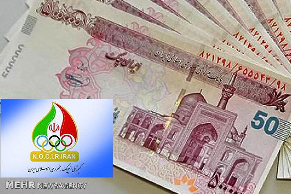۱۶ درصد بودجه سال ۹۷ کمیته ملی المپیک پرداخت شد ,