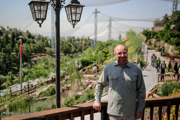 بازدید محمد باقر قالیباف از فاز دوم باغ پرندگان
