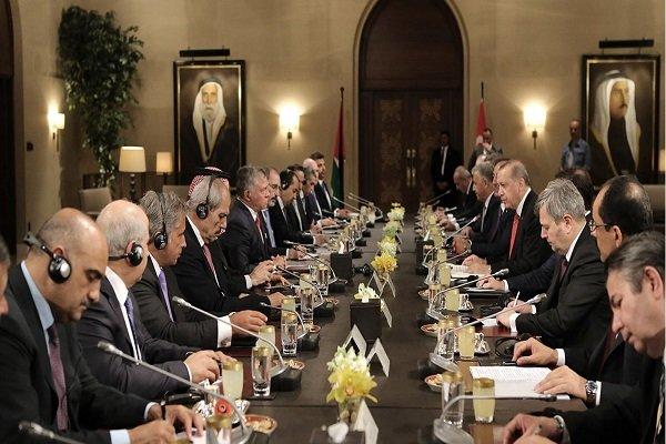 اردوغان و شاه اردن