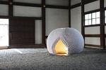 ساخت چایخانه تمام کاغذی در ژاپن