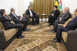 Cabiri Ensari, Seyyid Hasan Nasrullah ile görüştü
