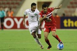 دیدار تیم های فوتبال پرسپولیس و الاهلی عربستان