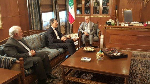 Deputy FM meets with Lebanese parliament speaker